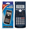 Deli E 1710 Scientific Calculator, Dark Gray
