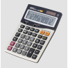 Deli E 1629 Calculator 12 Digit, Dark Gray