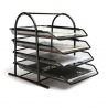 Steel Paper Tray 3 Layer, Black