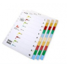 Hua Jie File Divider 1-10 Set